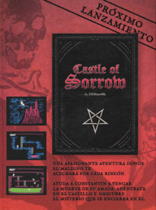Castle of Sorrow, Caratula molona