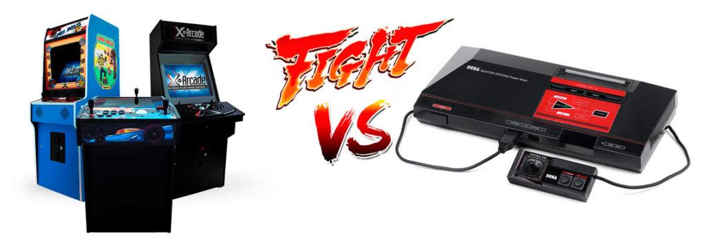 Arcades VS Consolas