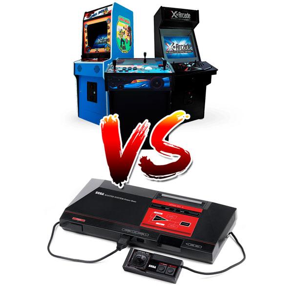 Consolas Vs Arcades