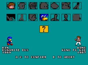 Sega Master System Brawl Personajes