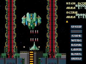 Slap Fight Mega Drive