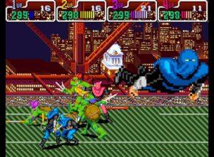 Turtles in Time Super Nintendo