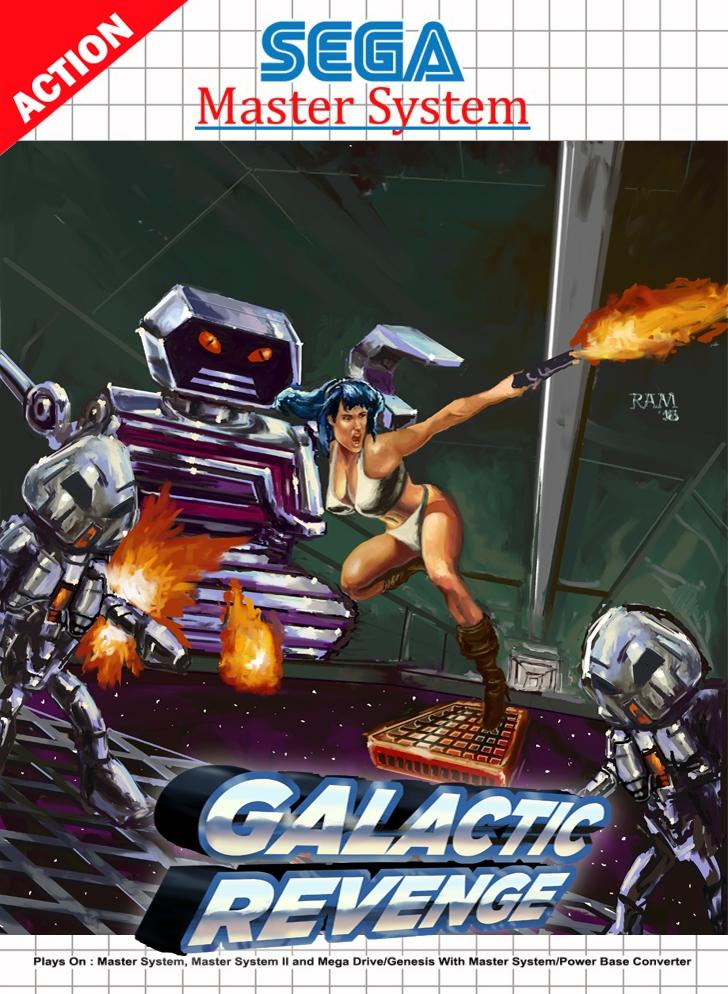 Galactic Revenge - Portada