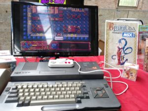 Amores de Brunilda MSX2