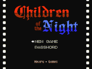 Children of the Night - Intro