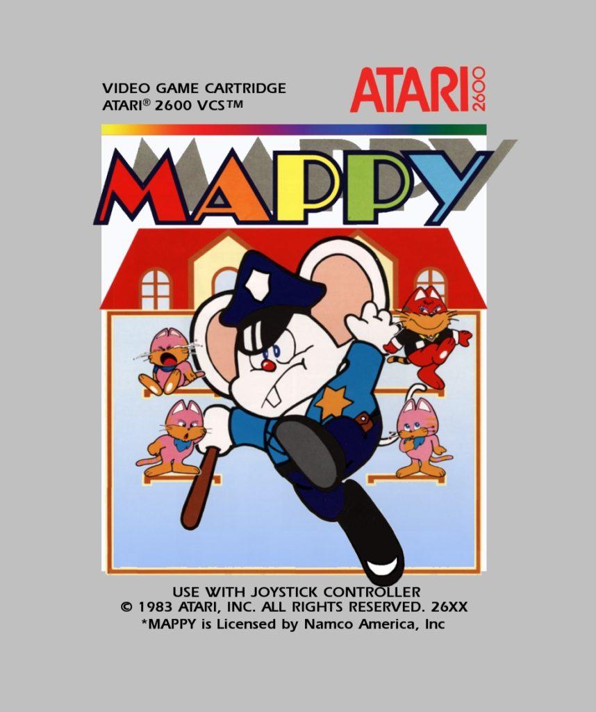Mappy posible portada - Atari 2600