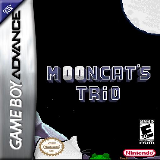 Mooncat's Trio - portada frontal