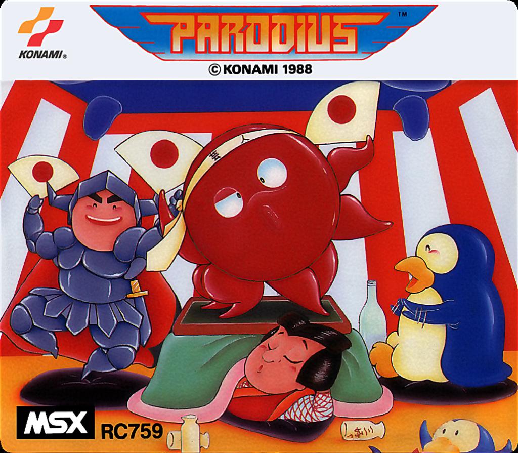 Parodius - Portada