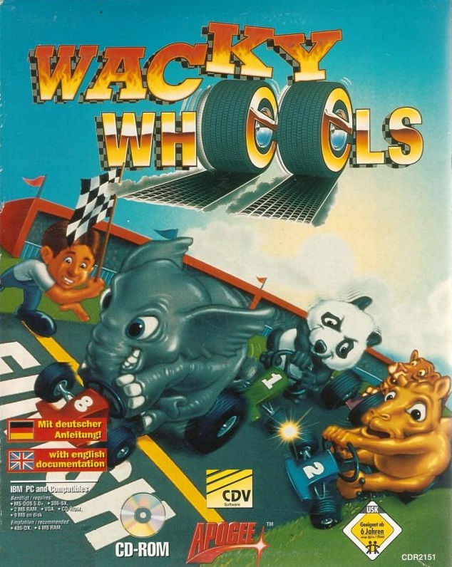 Wacky Wheels - Portada