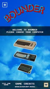 Bounder Moviles - 8 bits