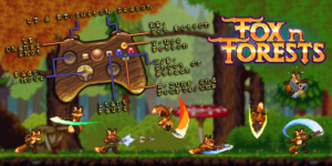 Fox n Forests - Movimientos