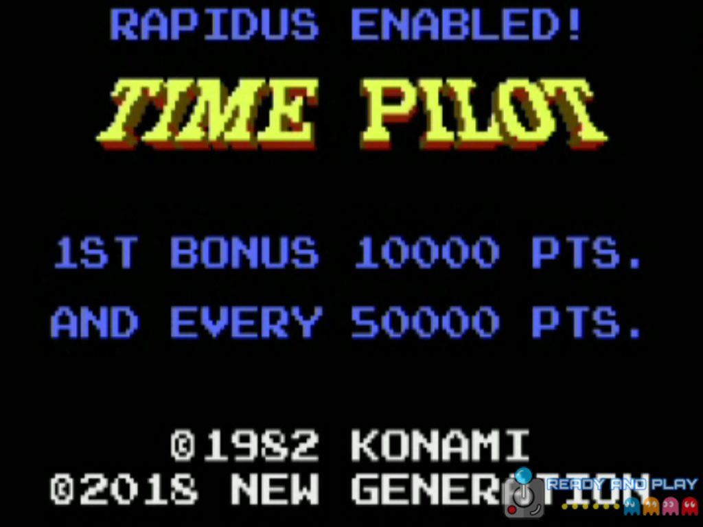 Time Pilot - Intro