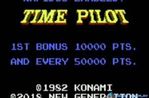 Time Pilot versión final para los Atari 8 bits