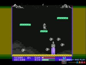 Jetpac Atari 8 bits