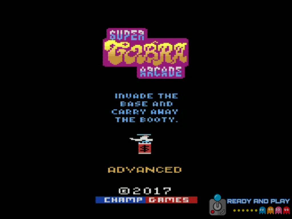 Super Cobra Arcade - Intro