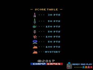 Super Cobra Arcade - Puntuación