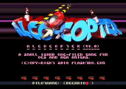 ALCO COPTER: New Amiga Game