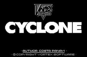 CYCLONE: Vortex Software 1985