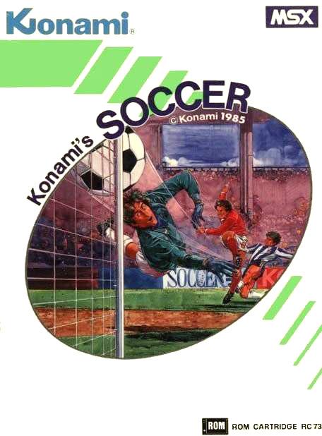 Konamis Socccer - Portada