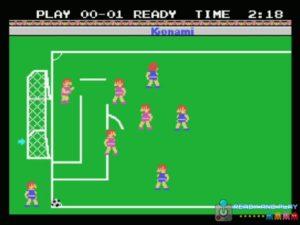 Konamis Soccer - Corner