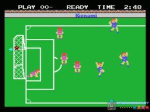 Konamis Soccer - Gol