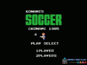 Konamis Soccer - Intro