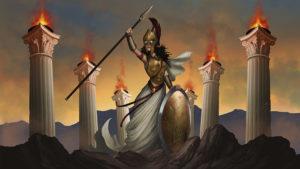 Rise of the Titans - atenea_heroe