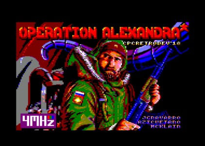 Operation Alexandra: Entrevistamos a 4Mhz