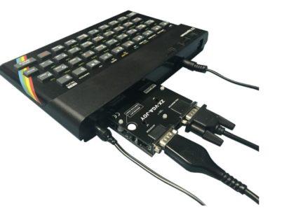 ZX VGA JOY: New hardware para el Spectrum