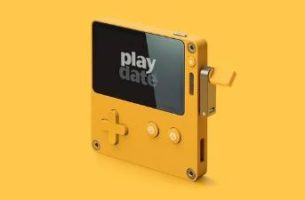 PlayDate, una consola portátil con manivela