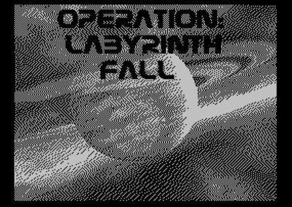 Operation: Labyrinth Fall. ZX Spectrum