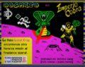 Cosmito en el Imperio Cobra: Juego de Asteroide ZX