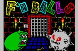 F´n Balls: ZX Spectrum Game by Andy Dansby