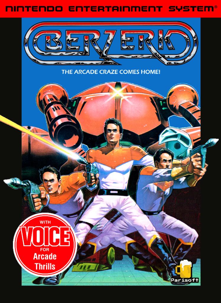 Berzerk NES
