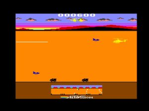 Chopper Command: Ahora en Commodore 64 #Ready and Play