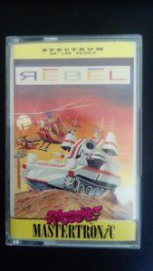 Portada de Rebel por Mastertronic