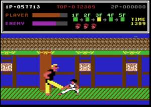Kung-Fu Master Commodore 64