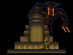 Es King Kong?..Ah no es el Mega Minotauro