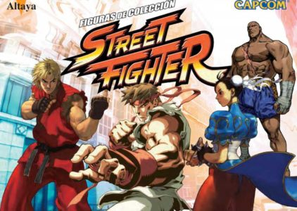Coleccionable Street Fighter de Altaya
