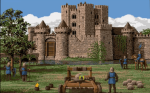 Asedio al castillo rival