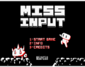 Miss Input (AMSTRAD CPC)