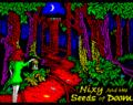 Nixy and the Seeds of Doom: Nuevo juego para ZX Spectrum