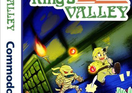 King´s Valley, el clásico de MSX, llega ahora a Commodore 64