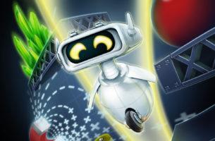 Robots Rumble (ZX SPECTRUM / COMMODORE 64)
