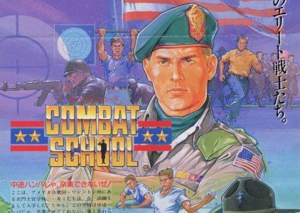 Si quieres ser buen soldado jugarás a Combat School (ARCADE)